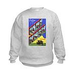 Fort Knox Kentucky (Front) Kids Sweatshirt