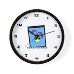 Silly Rabbit Wall Clock