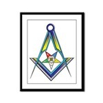 The S&C with the OES Star Framed Panel Print