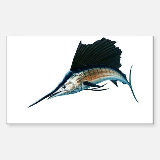 Sailfish Sticker (Rectangle)
