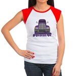 Trucker Jennifer Women's Cap Sleeve T-Shirt