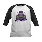 Trucker Jennifer Kids Baseball Jersey