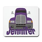 Trucker Jennifer Mousepad