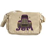 Trucker Jeri Messenger Bag