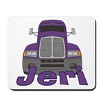 Trucker Jeri Mousepad