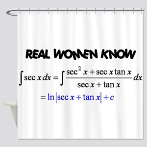 Real Women-2 Shower Curtain