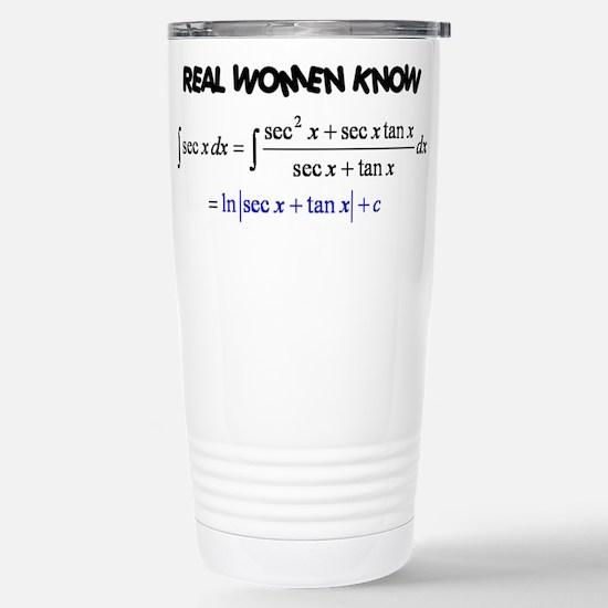 Real Women-2 Stainless Steel Travel Mug