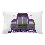 Trucker Jessica Pillow Case