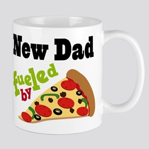 New Dad Pizza Quote Mug