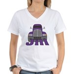 Trucker Jill Women's V-Neck T-Shirt