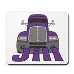 Trucker Jill Mousepad