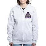 Trucker Jo Women's Zip Hoodie