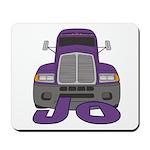 Trucker Jo Mousepad