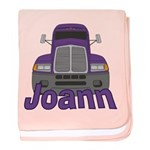Trucker Joann baby blanket