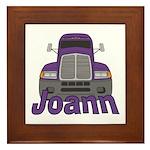 Trucker Joann Framed Tile