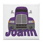 Trucker Joann Tile Coaster