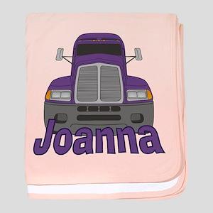Trucker Joanna baby blanket