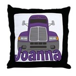 Trucker Joanna Throw Pillow