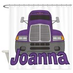 Trucker Joanna Shower Curtain