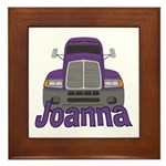 Trucker Joanna Framed Tile