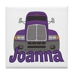 Trucker Joanna Tile Coaster