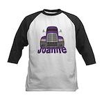 Trucker Joanne Kids Baseball Jersey