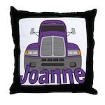 Trucker Joanne Throw Pillow