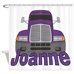 Trucker Joanne Shower Curtain