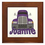 Trucker Joanne Framed Tile