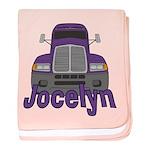 Trucker Jocelyn baby blanket
