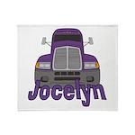 Trucker Jocelyn Throw Blanket