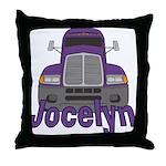 Trucker Jocelyn Throw Pillow