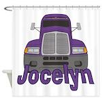 Trucker Jocelyn Shower Curtain