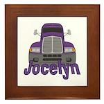 Trucker Jocelyn Framed Tile