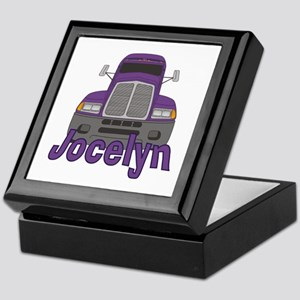 Trucker Jocelyn Keepsake Box