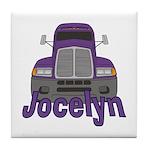 Trucker Jocelyn Tile Coaster