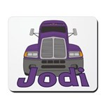 Trucker Jodi Mousepad