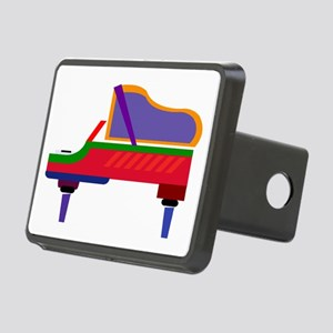 Funky Piano Rectangular Hitch Cover