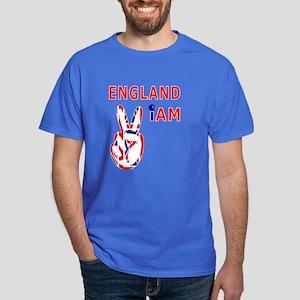 England iam victory design Dark T-Shirt