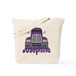 Trucker Josephine Tote Bag