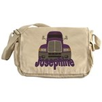 Trucker Josephine Messenger Bag
