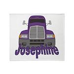Trucker Josephine Throw Blanket