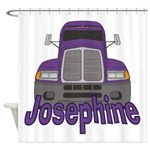 Trucker Josephine Shower Curtain