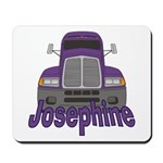 Trucker Josephine Mousepad