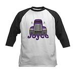 Trucker Joyce Kids Baseball Jersey