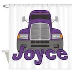 Trucker Joyce Shower Curtain