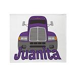 Trucker Juanita Throw Blanket