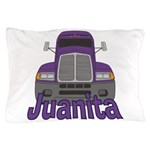 Trucker Juanita Pillow Case