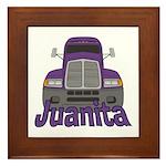 Trucker Juanita Framed Tile