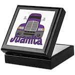 Trucker Juanita Keepsake Box